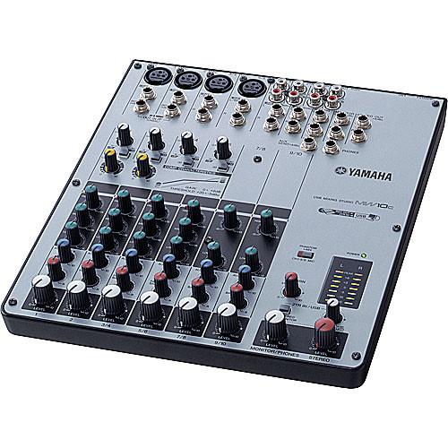 Yamaha MW10C - 10-Channel USB Mixer