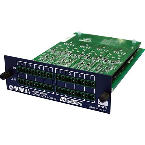 Yamaha MY8-ADDA96 - 8 Channel Analog I/O Card
