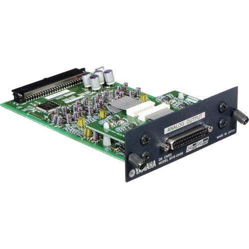 Yamaha MY8DA96 - 8 Channel Analog Output Card