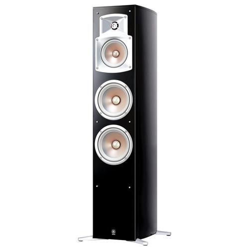 Yamaha NS-555 3-Way Floorstanding Speaker (Black, Single)