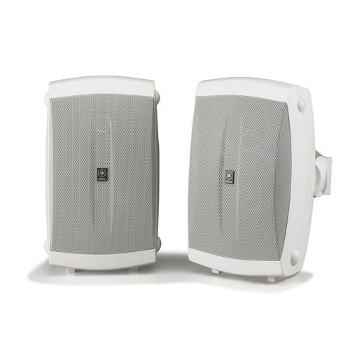"""Yamaha NS-AW150W 5"""" 130 Watts Bookshelf Speaker - Pair - White"""