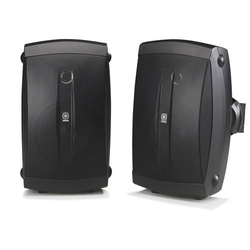 """Yamaha NS-AW150B 5"""" 130 Watts Bookshelf Speaker - Pair - Black"""