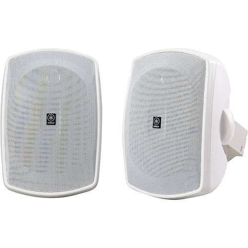 Yamaha NS-AW190WH Indoor/Outdoor Speaker (Pair, White)