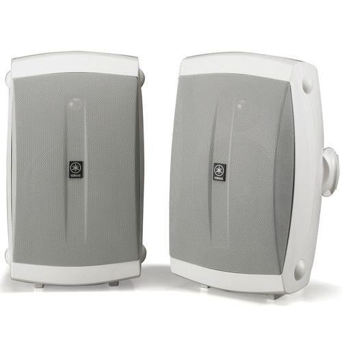 Yamaha NS-AW350 All-Weather Indoor/Outdoor Speakers (White, Pair)