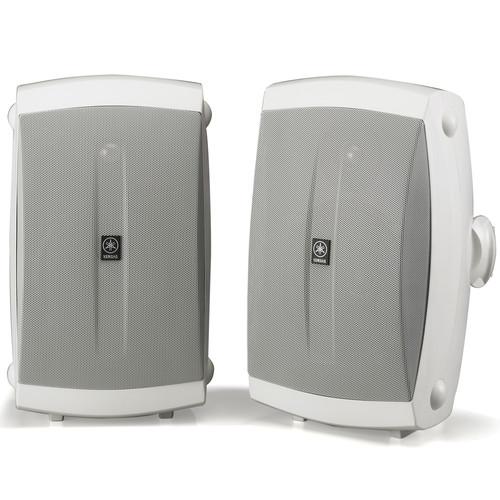 """Yamaha NS-AW350W 6.5"""" 130 Watts Bookshelf Speaker - Pair - White"""