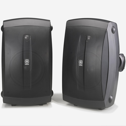 Yamaha NS-AW350 All-Weather Indoor/Outdoor Speakers (Black, Pair)