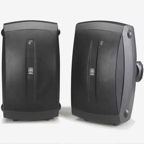 """Yamaha NS-AW350B 6.5"""" 130 Watts Bookshelf Speaker - Pair - Black"""