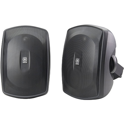 Yamaha NS-AW390BL Indoor/Outdoor Speaker (Pair, Black)