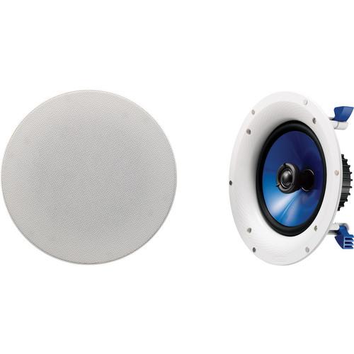"Yamaha NS-IC800 8"" In-Ceiling Speaker (Pair, White)"