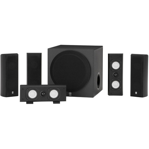 Yamaha NS-SP3800 Home Theater 5.1-Channel Speaker Package (Black)