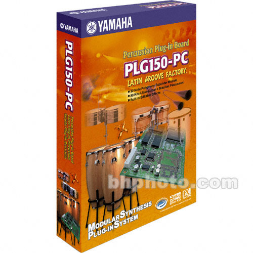 Yamaha PLG150-PC - Latin Groove Factory Expansion Board