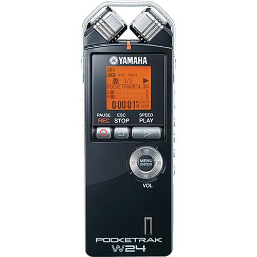 Yamaha POCKETRAK W24 Pocket Stereo Recorder