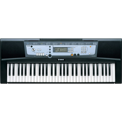 Yamaha psr e213 61 key portable keyboard with yamaha psre213 for Yamaha learning keyboard