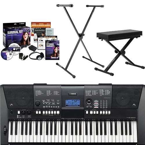 Yamaha PSR-E423 Value Bundle