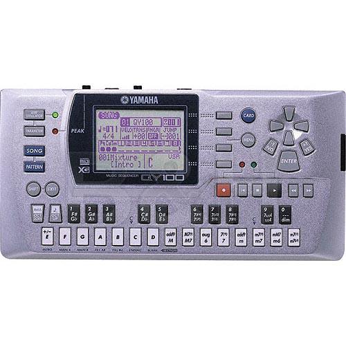 Yamaha QY100 - 24-Track Portable MIDI Sequencer