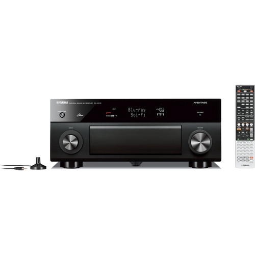 Yamaha RX-A1010 7.2-Channel A/V Receiver (Black)