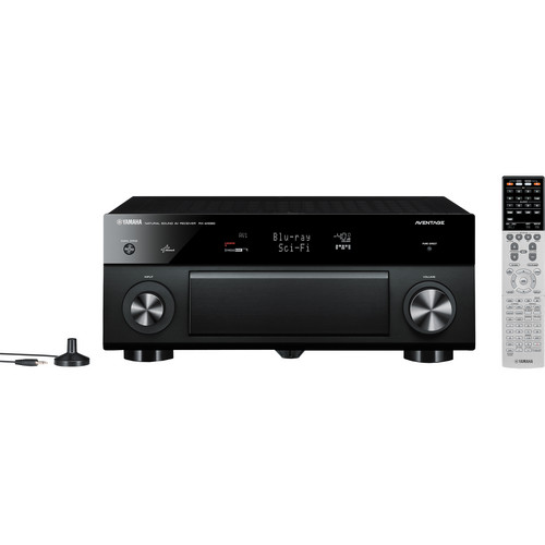 Yamaha RX-A1020BL 7.2-Channel A/V Receiver (Black)
