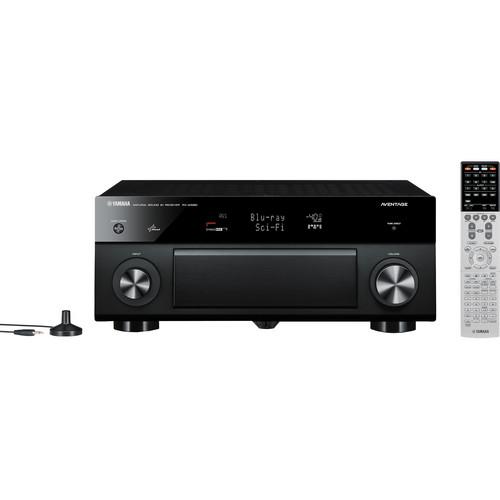 Yamaha RX-A1020BL 7.2-Channel A/V Receiver (Black)