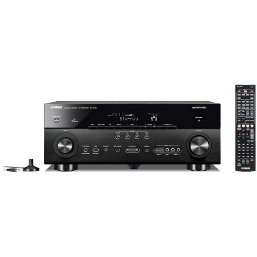 Yamaha RX-710 A/V Receiver (Black)