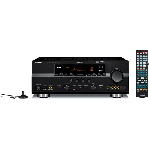 Yamaha RX-V661BL 7.1-Channel Home Theater Receiver