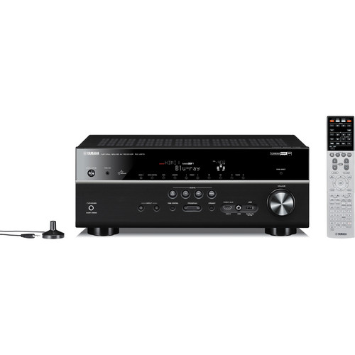 Yamaha RX-V673BL 7.2-Channel A/V Receiver (Black)