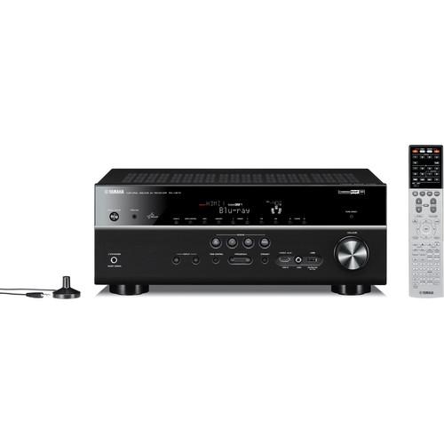 Yamaha RX-V673BL 7.2-Channel A/V Receiver (Black)