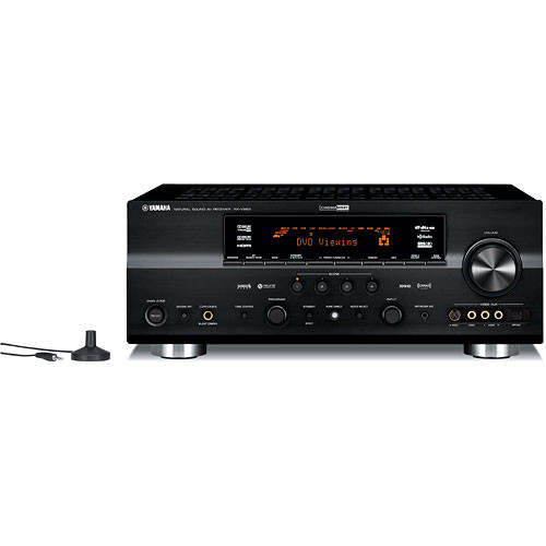 Yamaha rx v863bl 7 2 channel home theater receiver rx for Yamaha 7 2 home theatre system