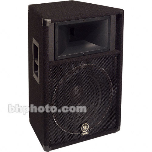 Yamaha S115V Club Series V Two-Way PA Speaker (Single)