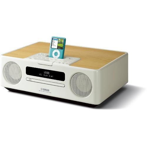 Yamaha TSX-130 Desktop Audio System (White)