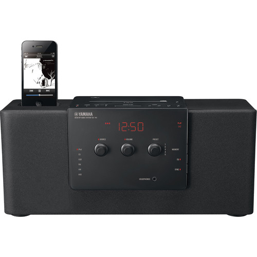 Yamaha TSX-140 Desktop Audio System (Black)