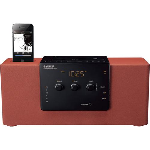 Yamaha TSX-140 Desktop Audio System (Brown)