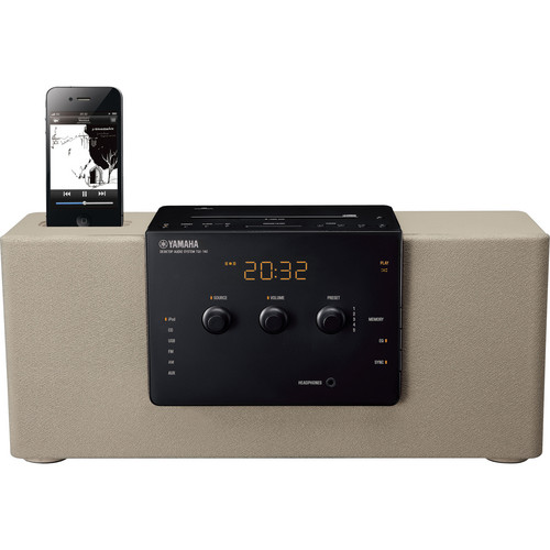 Yamaha TSX-140 Desktop Audio System (Grey)