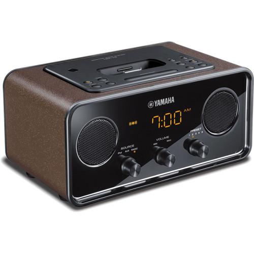 Yamaha TSX-70 iPod Dock (Brown)