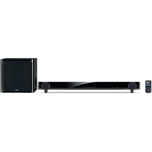 Yamaha YAS-201 Sound Bar & Wireless Active Subwoofer System (Black)