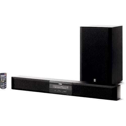 Yamaha yas 70bl front surround system black yas 70bl b h for Yamaha surround system review