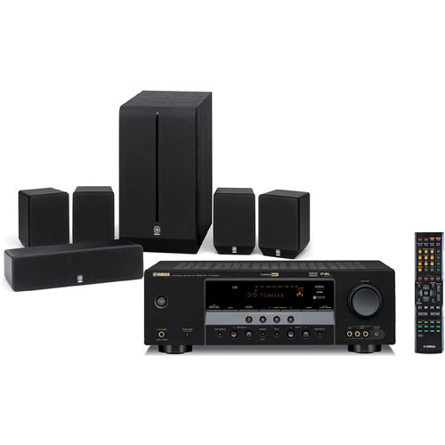 Yamaha YHT-280BL 5.1-Channel Home Theater System