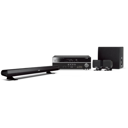 Yamaha YHT-494BL 5.1 Channel Home Theater in a Box