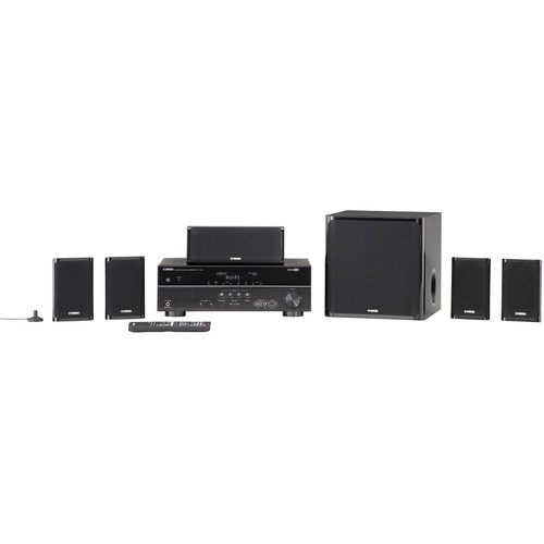 Yamaha YHT-497 5.1 Channel Home Theater in a Box System
