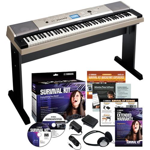 Yamaha YPG-535 88-Key Portable Keyboard Basics Kit