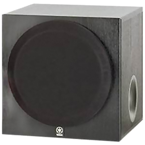 yamaha yst sw012bl subwoofer black yst sw012bl b h photo. Black Bedroom Furniture Sets. Home Design Ideas