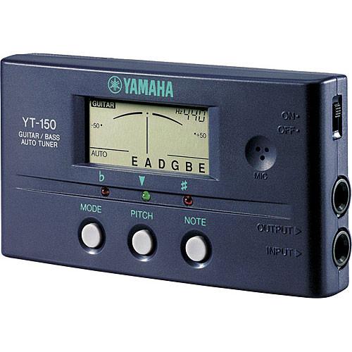 yamaha yt150 guitar bass auto tuner yt150 b h photo video. Black Bedroom Furniture Sets. Home Design Ideas