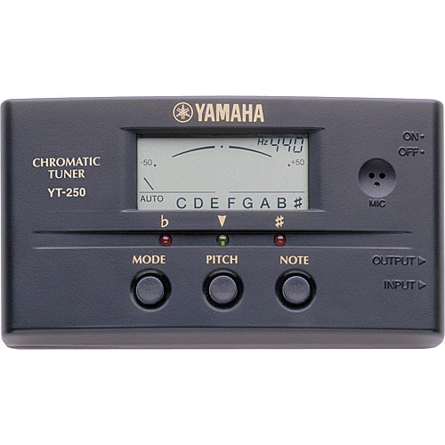 Yamaha YT250 - Auto/Manual Chromatic Tuner