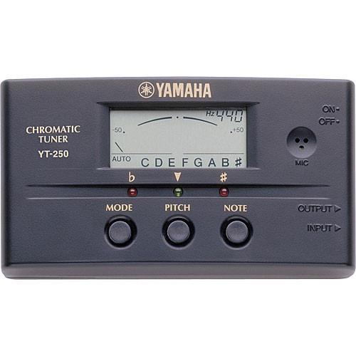 Yamaha YT250 - Auto/Manual Chromatic Tuner