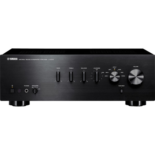 Yamaha A-S300 Integrated Amplifier (Black)