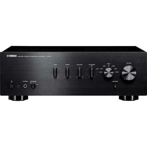 Yamaha A-S300 Integrated Amplifier (Black)