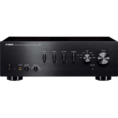 Yamaha A-S500 Integrated Amplifier Receiver (Black)
