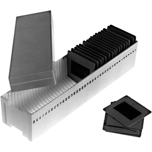 Yankee Slide Tray GAF/Sawyers - Two Trays - Each Tray Holds 40 35mm Slides
