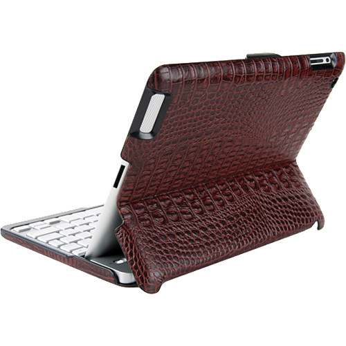 ZAGG ZAGGfolio for The new iPad and iPad 2 - Alligator Brown Leather (Case ONLY)