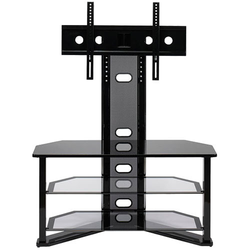 Z-Line Madrid Flat Panel TV Stand with Integrated Mount (Black)