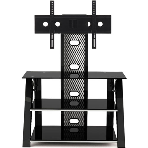 Z-Line Cruise Flat Panel TV Stand with Integrated Mount (Black)